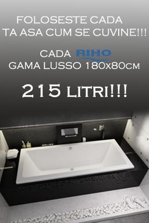 CADA LUSSO 215 LITRI