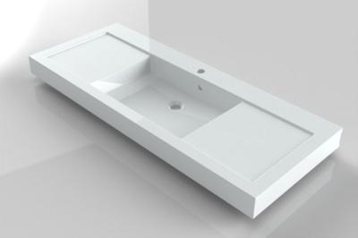 Lavoar Riho din compozit 120cm gama Andora, alb