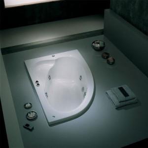Poza Cada Banos 10 asimetrica de 150x100 cm model Marlene