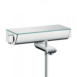 poza Baterie Hansgrohe pentru cada, cu termostat model Ecostat Select