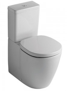 poza Vas WC Ideal Standard cu rezervor si capac soft close seria Connect