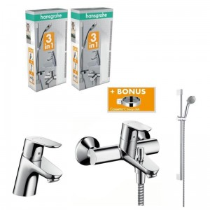 poza SET BATERII HANSGROHE FOCUS E2 3 in 1