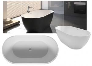 poza Cada Riho freestanding de 150x75 cm model Bilbao Culori preferentiale Mat