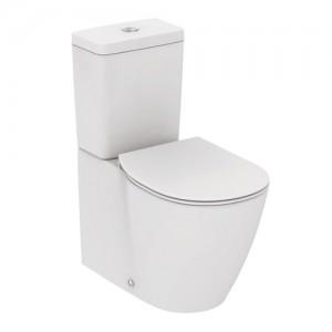 poza Vas wc pe pardoseala AquaBlade lipit de perete, cu rezervor si capac inchidere normala Ideal Standard
