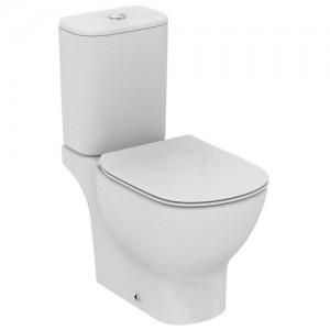 poza Vas wc pe pardoseala cu decupaj , rezervor si capac inchidere normala Ideal Standard