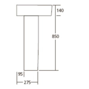 Piedestal Ideal Standard Connect