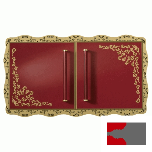 Dulap orizontal de perete Villeroy&Boch gama Amadea Royal