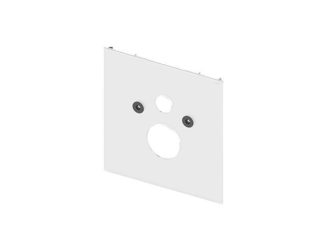 Placa inferioara TECElux alba pt. vas Wc standard