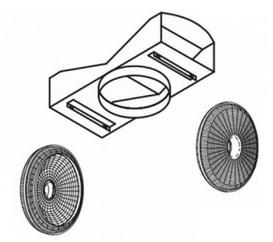 Kit de recirculare pentru hote Teka model CC 40