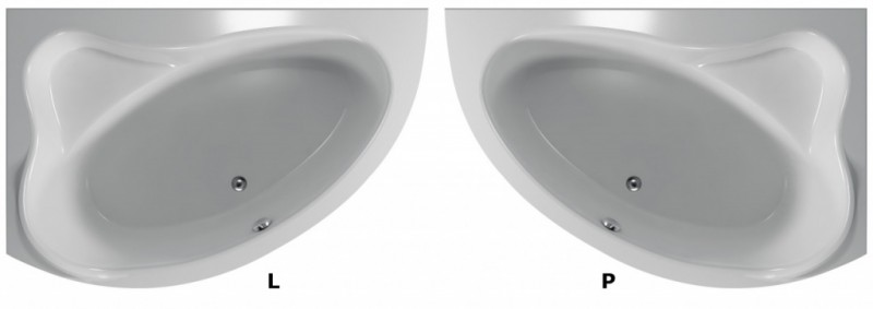Cada asimetrica de stanga 150x100x38,5 cm Teiko model CEJLON. Poza 50796