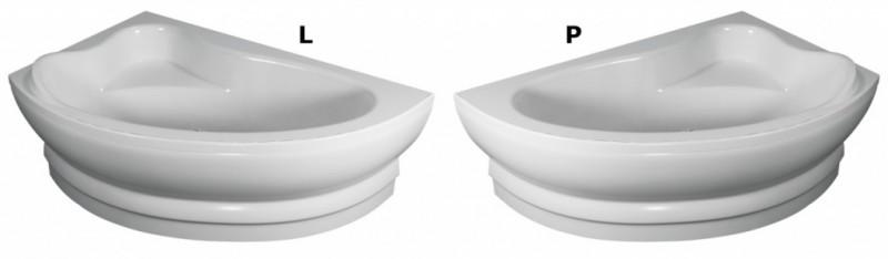 Cada asimetrica de stanga 150x100x38,5 cm Teiko model CEJLON. Poza 50797