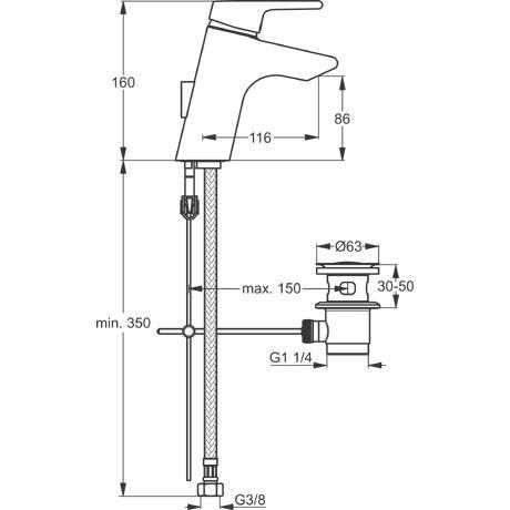 Baterie Ideal Standard lavoar Active