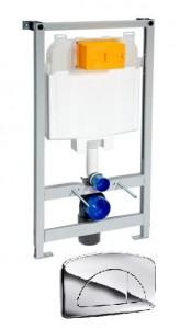 poza Rezervor cu cadru pentru WC suspendat de la Ideal Standard model Diamant