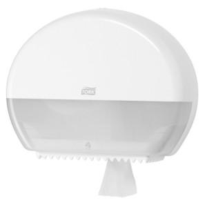 poza Dozator hartie WC mini Jumbo Tork alb/negru