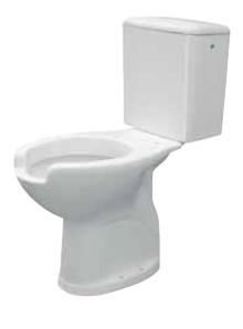 poza Vas WC pentru rezervor pe vas pentru persoane cu dizabilitati Idral