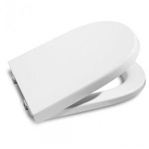poza Capac WC alb pentru persoane cu dizabilitati Roca model Meridian