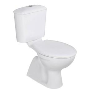 poza Vas WC Vidima cu rezervor pe vas si capac seria SevaLoop cu scurgere verticala