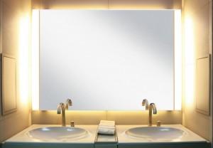 poza Oglinda cu sistem de iluminare Roca Armani