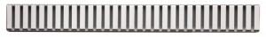 poza Gratar pentru canal de scurgere (Otel inoxidabil lustruit) AlcaPlast model LINE-650L