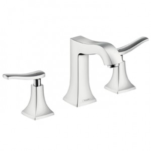 poza Baterie lavoar 3 piese Hansgrohe gama Metris Classic, crom