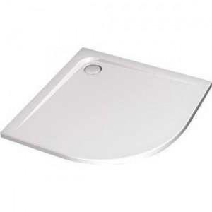 poza Cadita dus asimetrica, 90x70cm,  Ideal Standard gama Ultra Flat