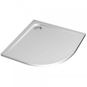 poza Cadita dus asimetrica, 95x75cm,  Ideal Standard gama Ultra Flat