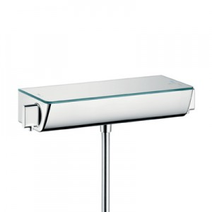 poza Baterie termostata dus Hansgrohe gama Ecostat Select, crom