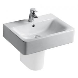 poza Lavoar Ideal Standard de 55x38 cm model Connect cu proiectie scurta O.Z