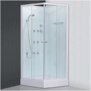 poza Cabina de dus cu hidromasaj si baie de aburi patrata 90 cm seria Sanipro model ARES NEO 900