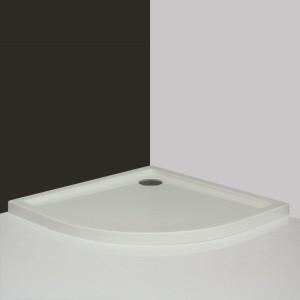 poza Cadita de dus semirotunda 90 cm seria Roltechnik model Flat Round