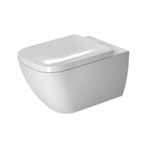 poza Vas WC Duravit suspendat 36x54cm cu capac, gama Happy D.2, alb