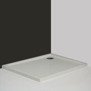 poza Cadita de dus dreptunghiulara 100X80 cm seria Roltechnik model Flat Kvadro