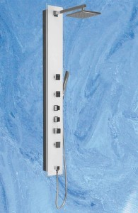 poza Panou de dus cu hidromasaj 150X20 cm seria Roltechnik model Luce Kvadro