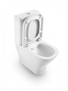 poza Capac WC soft-close Roca gama The Gap pentru vas WC Compact