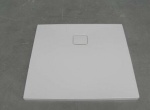poza Cadita de dus Riho rectangulara 100X90cm gama Basel 414, alb