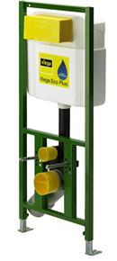 poza Cadru de fixare 98cm pentru wc-uri suspendate Viega ECO PLUS