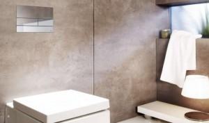 poza Clapeta de actionare WC TECE Otel inox mat cu efect anti amprenta O.Z