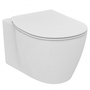 poza Vas WC suspendat Ideal Standard gama Connect cu sistem de prindere ascuns, alb