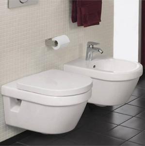 poza Vas WC suspendat Villeroy&Boch model Omnia Architectura cu capac soft close inclus