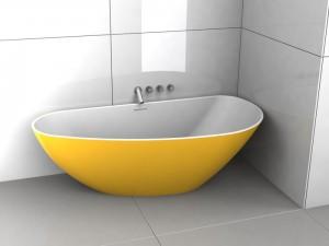poza Cada freestanding 190x90 cm Riho model Granada Culori preferentiale GLOSSY