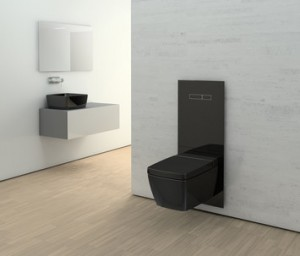 Poza Cadru WC complet TECE, gama TECElux, actionare electronica. Poza 31246
