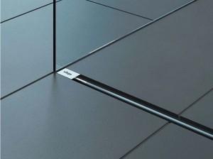poza Rigola de dus Viega model Vario inaltime 9.5 cm, dimensiune maxima 120 cm, gratar crom mat