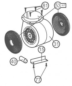poza Kit de recirculare pentru hote Teka model DQ 90