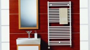 poza Radiator pentru baie din otel PURMO gama Santorini 600x714 mm
