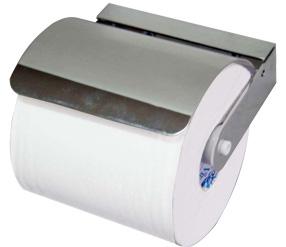 poza Suport cu capac cromat pentru hartie WC, Mediclinics