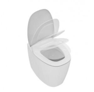 poza Vas WC fixare in pardoseala Ideal Standard gama Dea, alb, BTW, capac inchidere lenta, culoare alb Mat