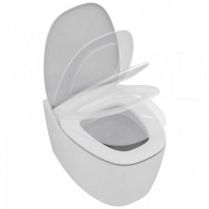 poza Vas WC suspendat Ideal Standard gama Dea, alb, capac inchidere lenta