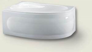 Poza Cada asimetrica 153,5x100cm Riho model Lyra, stanga