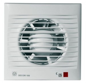 poza Ventilator baie Soler&Palau model Decor-100CRZ 230V 50Hz