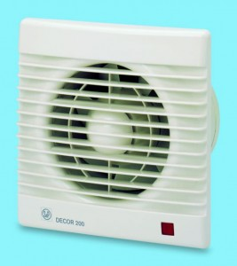 Poza Ventilator baie Soler&Palau model Decor-200CR 230V 50Hz